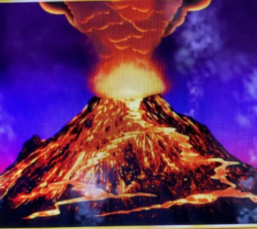Tiki Fire Volcan