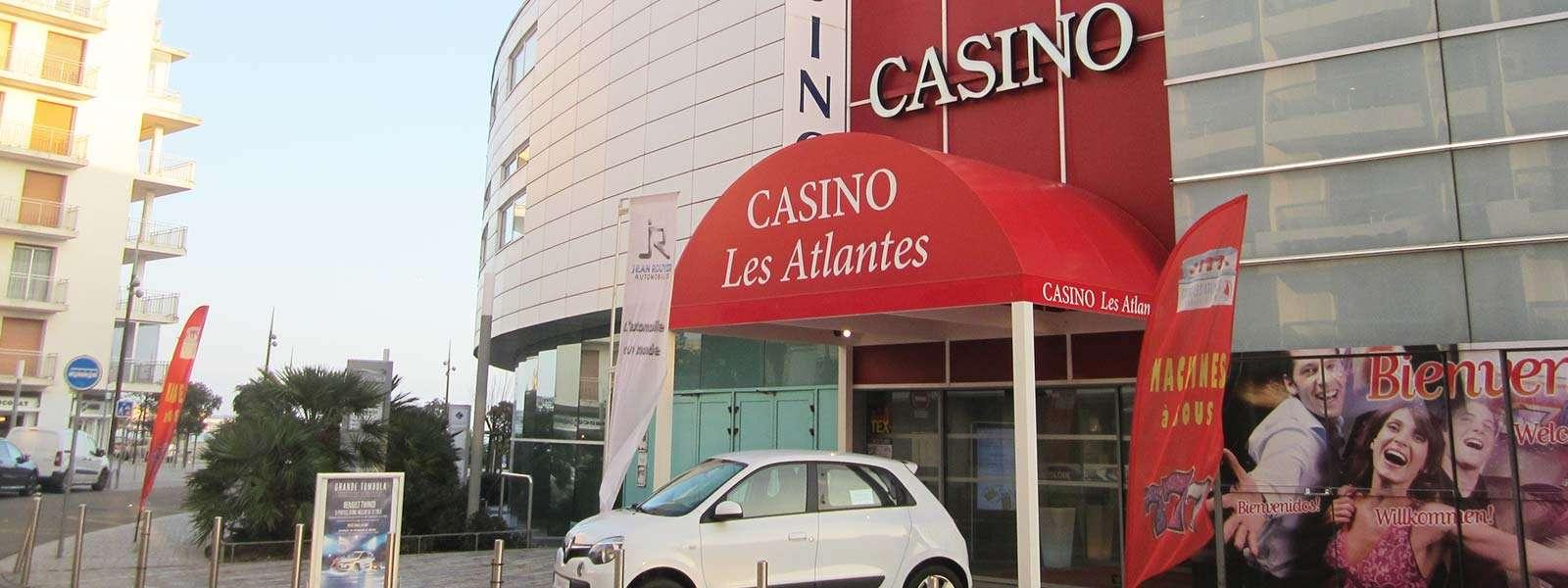 Casino-Jeux-Les Sables d'Olonne-Vendée-Pays de La Loire-France