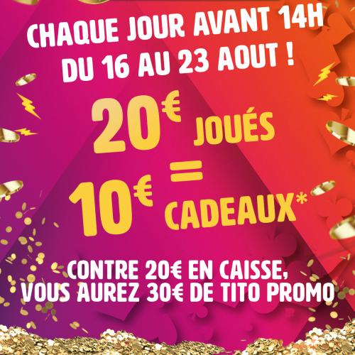 BONUS 30 €