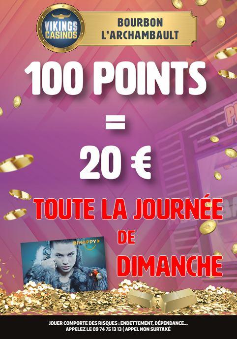 B2B 100 Points / 20 €