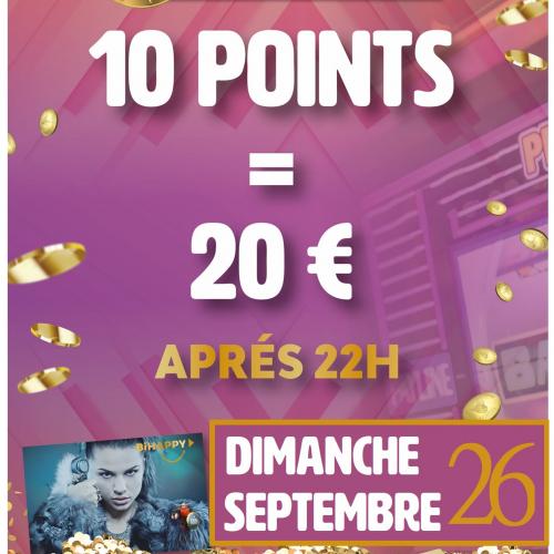 B2B Night 10 Points / 20 €