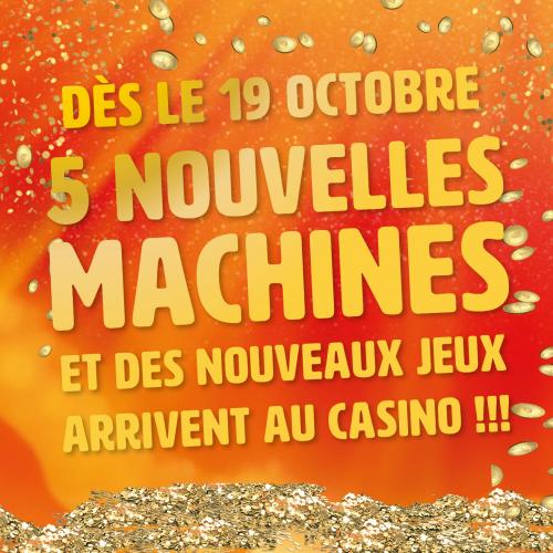 De nouvelles sensations au casino de Fort-Mahon