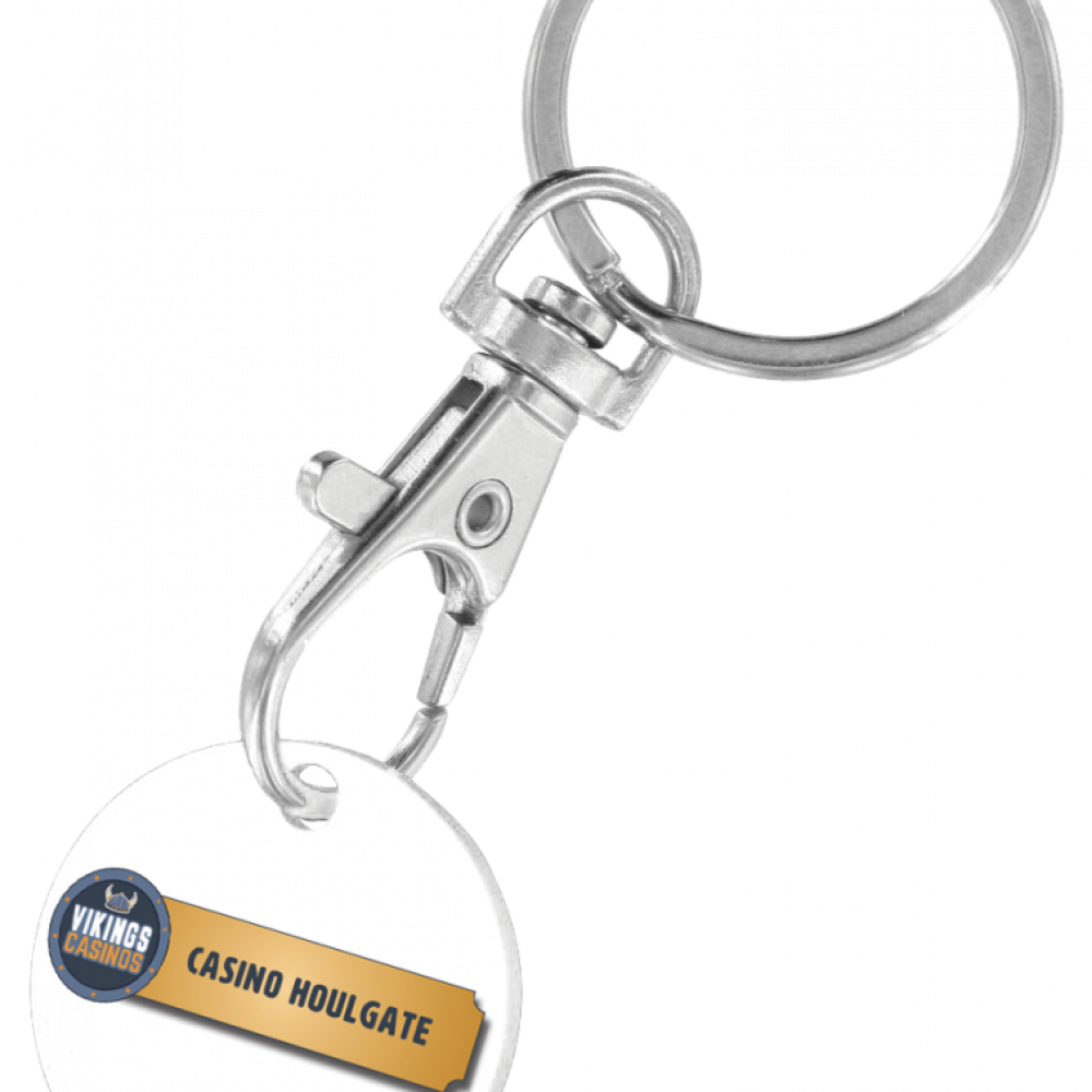 Porte-clés jeton de caddy
