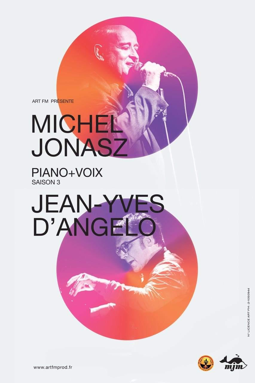MICHEL JONASZ 'PIANO + VOIX'